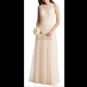 Bill Levkoff Bridesmaid Dress Evening Gown. 6